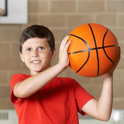 Basketball an der Friedrich Heuß Schule