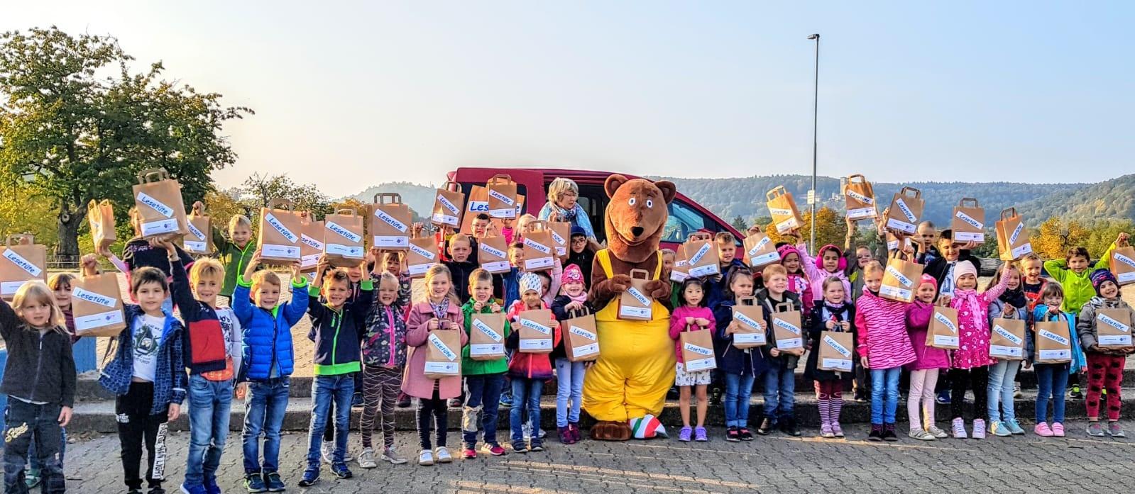 lesebär an der friedrich heuß schule haßmersheim | friedrich-heuss